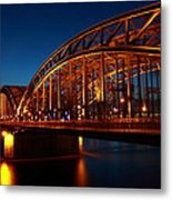 Hohenzollern Bridge Metal Print