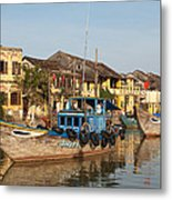 Hoi An Fishing Boats 03 Metal Print