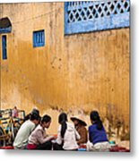 Hoi An Noodle Stall 04 Metal Print