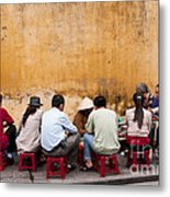 Hoi An Noodle Stall 05 Metal Print