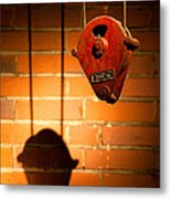 Hoist For Lifting Heavy Weight Metal Print