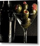 Hold The Booze Metal Print