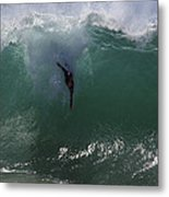 Hold Your Breath Metal Print