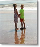 Holding Hands Metal Print by Rachael Curry