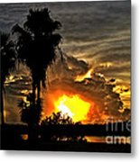 Hole In The Sky Metal Print
