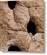 Holes In The Wall Metal Print