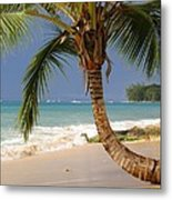 Holetown Beach Metal Print