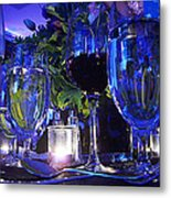 Holiday Blues Metal Print