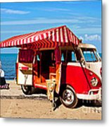 Holiday By The Seaside Metal Print