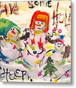 Holiday Cheer Metal Print