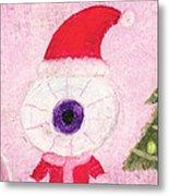 Holiday Eye Metal Print