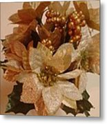 Holiday Flowers Metal Print