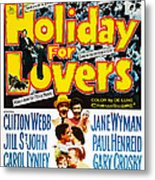 Holiday For Lovers, Us Poster Art Metal Print