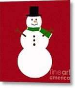 Holiday Hugs Metal Print