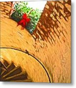 Holiday In The Lighthouse Metal Print