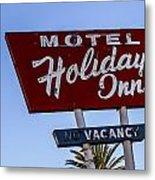 Holiday Inn 3 Metal Print
