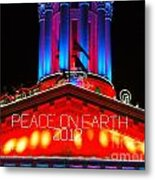 Holiday Lights 2012 Denver City And County Building E1 Metal Print
