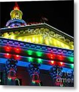 Holiday Lights 2012 Denver City And County Building L5 Metal Print