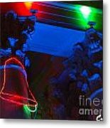 Holiday Lights 2012 Denver City And County Building M3 Metal Print