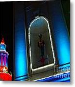 Holiday Lights 2012 Denver City And County Building N2 Metal Print