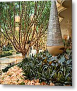 Holiday Lights - Wynn Hotel Metal Print