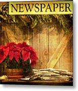 Holiday News Metal Print