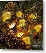 Holiday Ornaments Metal Print