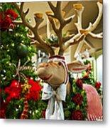 Holiday Reindeer Metal Print
