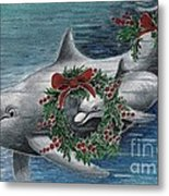 Holiday Smile Metal Print