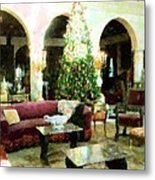 Holiday Time Inside Ringling Metal Print