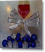 Holiday Wine Metal Print