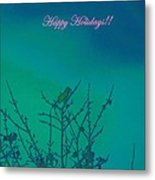 Holiday With Nature Metal Print