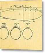 Holland Submarine Patent  Art 1902 Metal Print