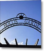 Hollis Gardens Entrance Metal Print