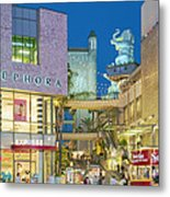 Hollywood And Highland Center Hoillywood Ca  Metal Print