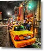 Hollywood Boulevard Metal Print