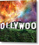 Hollywood - Home Of The Stars By Sharon Cummings Metal Print