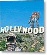 Hollywood Prime Metal Print by Scott Listfield