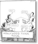 Hollywood Think Tank Metal Print