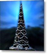Hollywood Xmas Tree Walt Disney World Metal Print