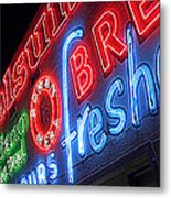 Holsum Las Vegas 3 Metal Print by Kip Krause