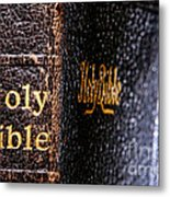 Holy Bible Metal Print