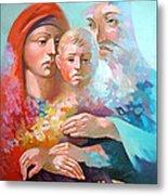 Holy Family Metal Print