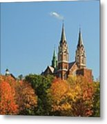 Holy Hill In Living Color Metal Print