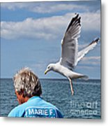 Holy Mackerel Metal Print