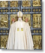 Holy Mass And Opening Of The Holy Door Metal Print