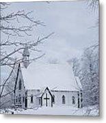Holy Trinity Anglican Church And Metal Print