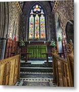 Holy Trinity Church Vertotama Metal Print