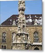 Holy Trinity Statue Budapest Metal Print