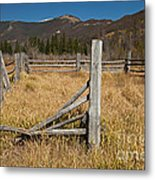 Holzwarth Historic Site In The Kawuneeche Valley Metal Print